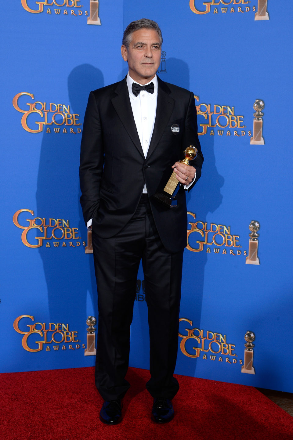 George Clooney, Cecil B. DeMille award of the Golden Globes 2015