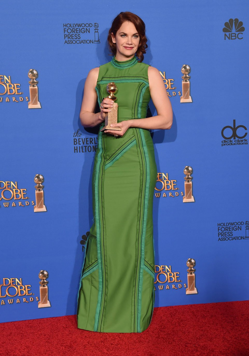 Ruth Wilson, winner of the Golden Globe 2015 for the best drama actress