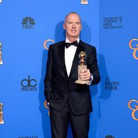 Michael Keaton, winner of the Golden Globe 2015 for the best comedy actor