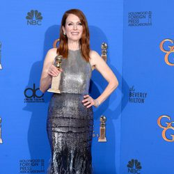 Julianne Moore, winner of the Golden Globe 2015 for the best drama actress