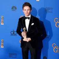 Eddie Redmayne, winner of the Golden Globe 2015 for the best drama actor