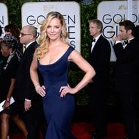 Katherine Heigl at the Golden Globes 2015 red carpet