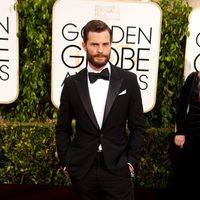 Jamie Dornan at the Golden Globes 2015 red carpet