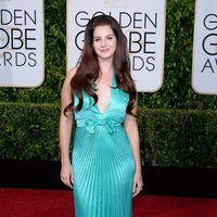 Lana del Rey at the Golden Globes 2015 red carpet
