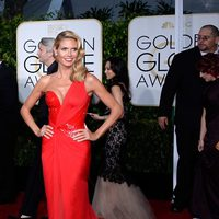 Heidi Klum at the Golden Globes 2015 red carpet
