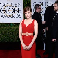 Kate Mara at the Golden Globes 2015 red carpet
