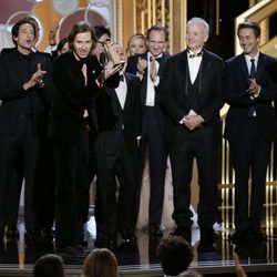 'The Grand Hotel Budapest' team, best comedy movie at the Golden Globes 2015