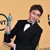 Eddie Redmayne, winner of the SAG 2015 for the Best Actor