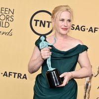 Patricia Arquette, winner of the SAG 2015, for Best Supporting Actress