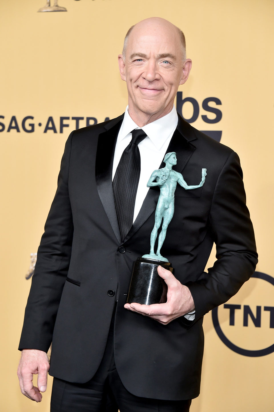 J.K. Simmons, winner of the SAG 2015, for the Best Supporting Actor