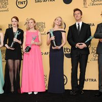 'Bridman's' main actors, winner of the SAG 2015 for best casting