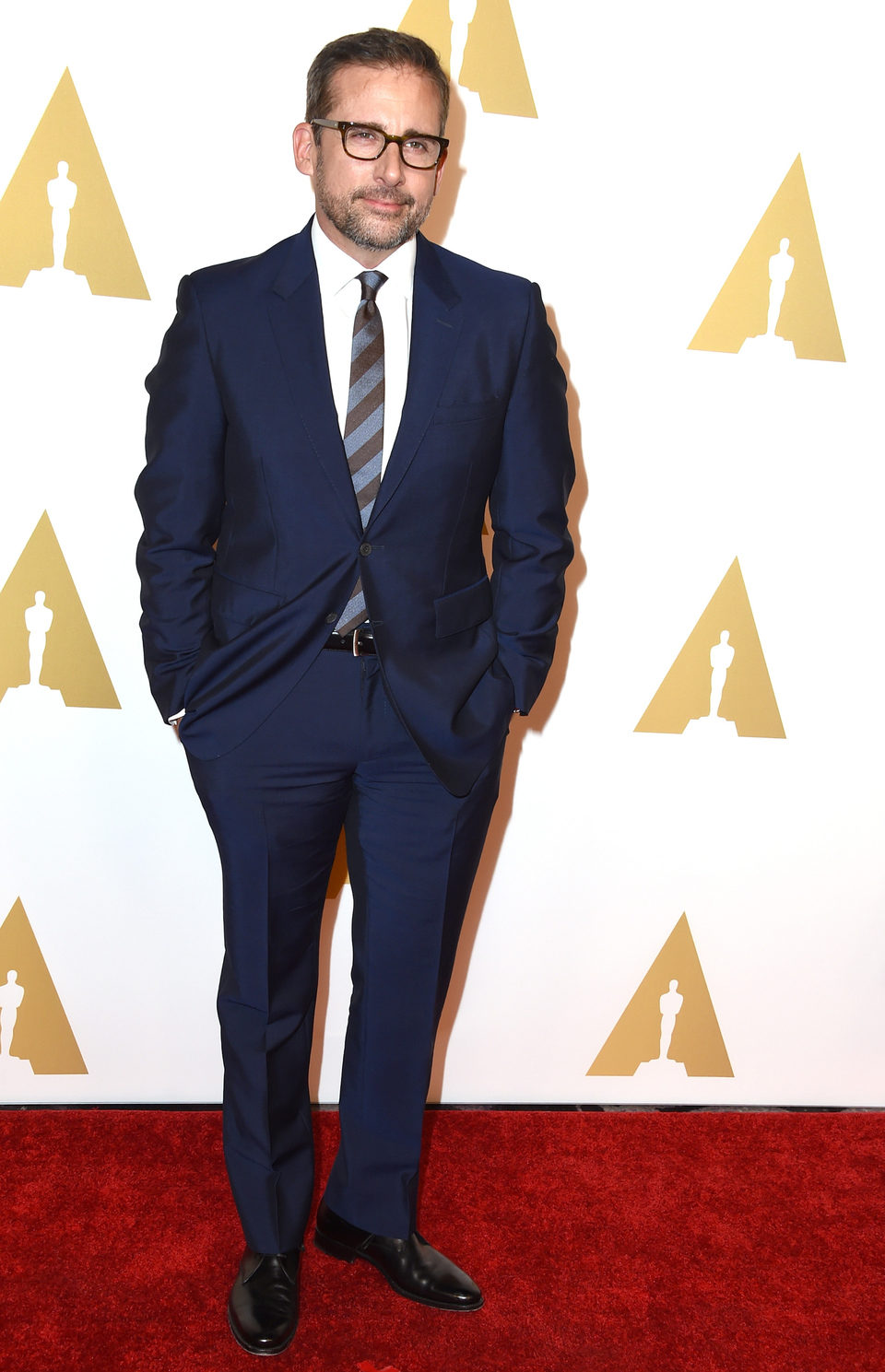 Steve Carell at the Oscars' Nominees Luncheon 2015