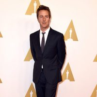 Edward Norton at the Oscars' Nominees Luncheon 2015
