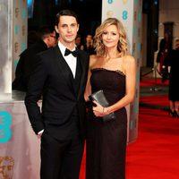 Matthew Goode and Sophie Dymoke at the 2015 BAFTA Awards