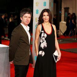 Noel Gallagher and Sarah MacDonald at the BAFTA 2015
