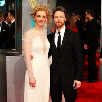 James McAvoy and Anne-Marie Duff at the BAFTA 2015