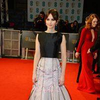 Felicity Jones at the BAFTA 2015