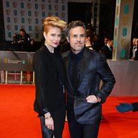 Mark Ruffalo and Sunrise Coigney at the BAFTA 2015