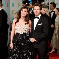 Keira Knightley and James Righton at the BAFTA Awards 2015