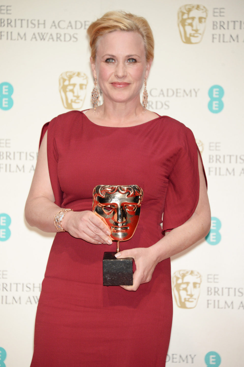 Patricia Arquette, best suporting actress winner at BAFTA 2015