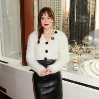 Dakota Johnson at the 'Fifty Shades of Grey' New York fan event