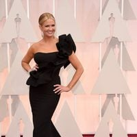 Nancy O'Dell at the Oscar Awards 2015 red carpet