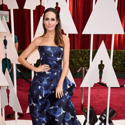 Louise Roe at the Oscars Awards 2015 red carpet