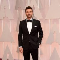 Ryan Seacrest at the Oscar 2015 red carpet