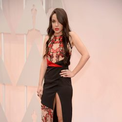 Lorelei Linklater at the Oscar 2015 red carpet
