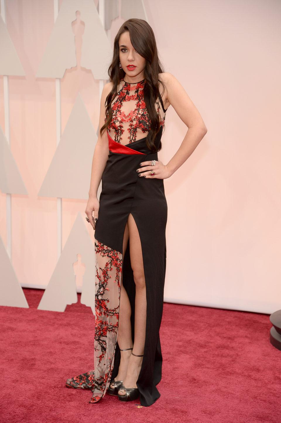 Lorelei Linklater at the Oscar 2015 red carpet