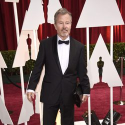 John Savage at the Oscars Awards 2015 red carpet