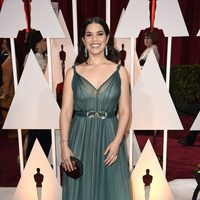 America Ferrera at the Oscar 2015 red carpet