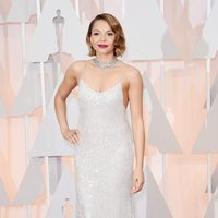 Carmen Ejogo at the Oscars Awards 2015 red carpet