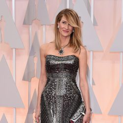 Laura Dern at the Oscars Awards 2015 red carpet