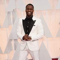 Kevin Hart at the Oscars Awards 2015 red carpet