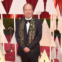 Hans Zimmer at the Oscar 2015 red carpet