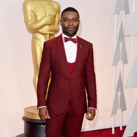 David Oyelowo at the Oscars Awards 2015 red carpet