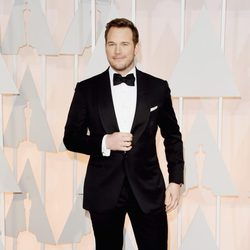 Chris Pratt at the Oscar 2015 red carpet