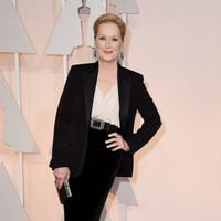 Meryl Streep at the Oscar 2015 red carpet