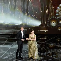 Anna Kendrick and Neil Patrick Harris at the opening number of the Oscars 2015