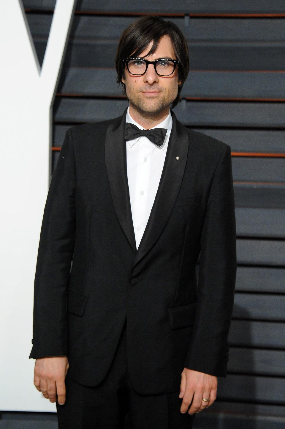 Jason Schwartzman in the Oscar 2015 red carpet