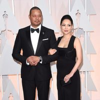 Terrence Howard and Miranda Howard in the Oscar 2015 red carpet