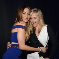 Sofia Vergara and Reese Witherspoon during MTV Movie Awards 2015