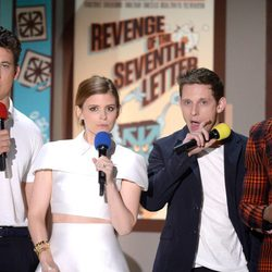 'The Fantastic Four' cast during MTV Movie Awards 2015