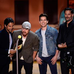 'Magic Mike XXL' cast during MTV Movie Awards 2015