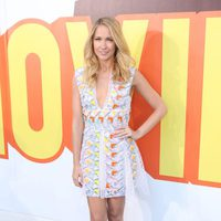 Anna Camp at the MTV Movie Awards 2015 red carpet