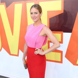 Brittany Snow at the MTV Movie Awards 2015 red carpet