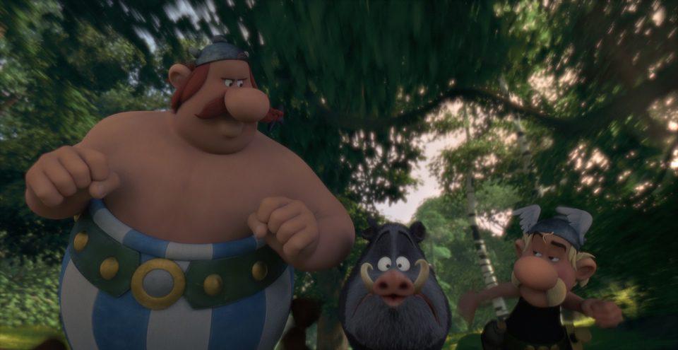 Asterix and Obelix: Mansion of the Gods, fotograma 4 de 27