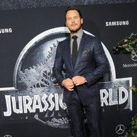 Chris Pratt at the 'Jurassic World' premiere in Los Angeles