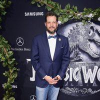Michael Giacchino at the 'Jurassic World' premiere in California